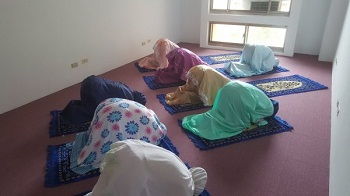 Yu Da University of Science and Technology prayer room
