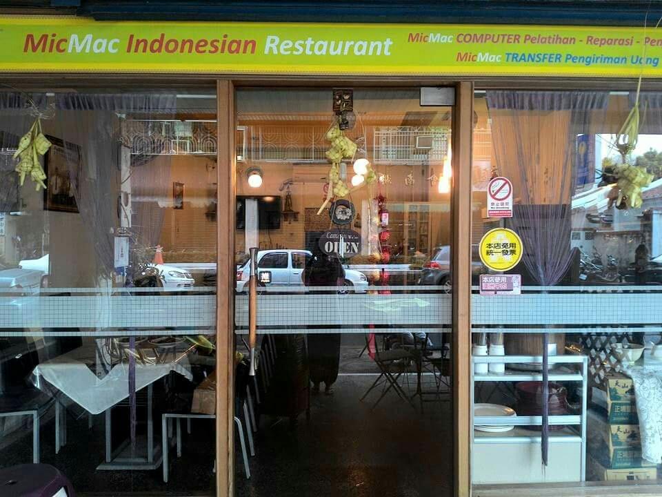 Mic Mac Indonesian Halal Restaurant (closed-pindah)