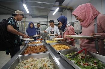 Yu Da University Restaurant for muslim