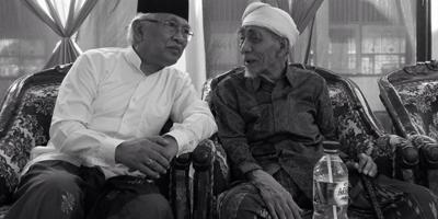 KH. Mustofa Bisri and KH. Maimun Zubair