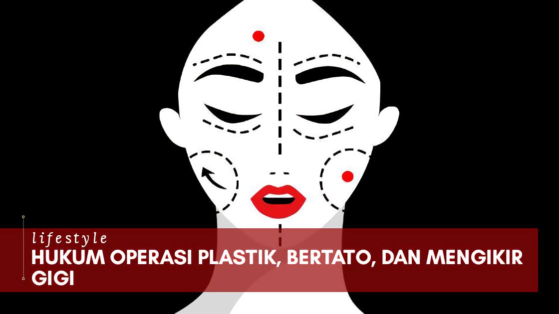 Hukum Operasi Plastik (Kecantikan), Bertato, dan Mengikir Gigi
