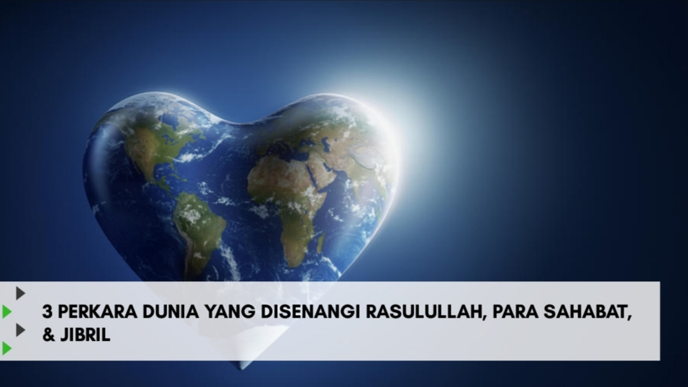 3 Perkara Dunia yang Disenangi Rasulullah, Para Sahabat dan Jibril
