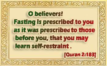 Fasting in Sha'ban