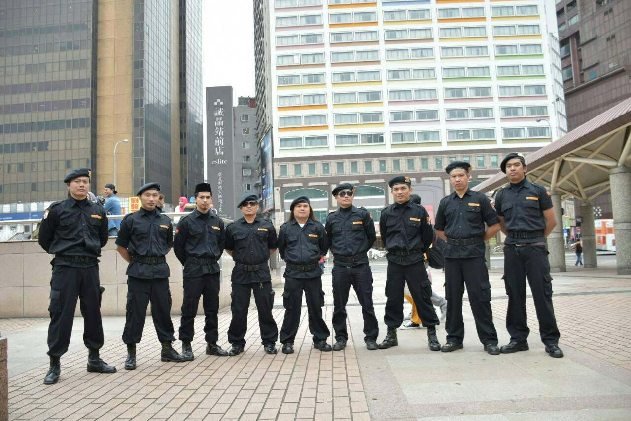 Banser NU Taiwan ikut menjaga ketertiban umat muslim nusantara di Taiwan