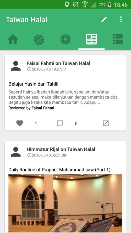 taiwan halal post